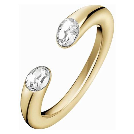 Calvin Klein Luxusní otevřený prsten Brilliant KJ8YJR14020