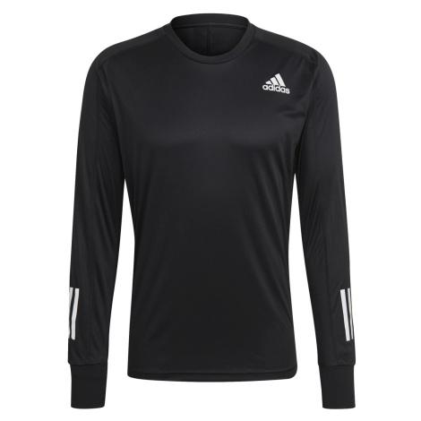 Běžecké tričko adidas OWN The Run Černá