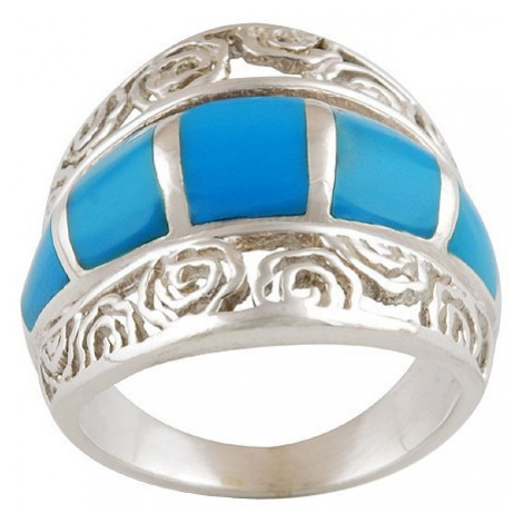 AutorskeSperky.com - Stříbrný prsten s tyrkysem - S225