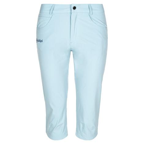 Dámské 3/4 kalhoty KILPI TRENTA-W světle modrá