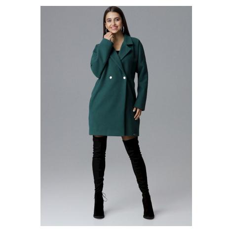 FIGL Zelený oversize kabát (M625 Green)