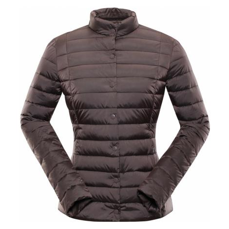 ALPINE PRO ROZA Dámská zimní bunda LJCP349985 peppercorn