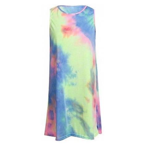 Duhové letní šaty FashionEU