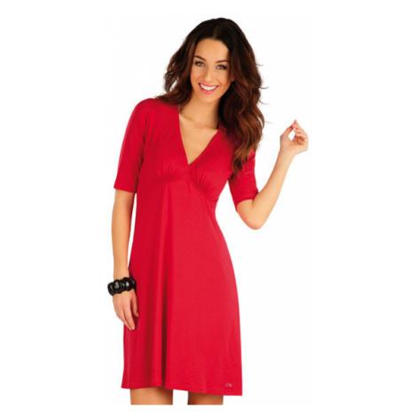 Dámské červené šaty Litex 58129 | červená