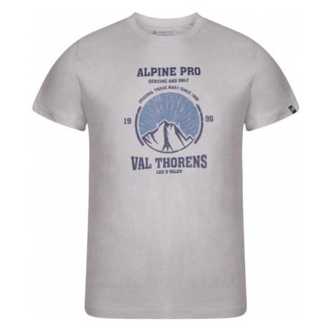Pánské triko Alpine Pro ABIC 8 - šedá