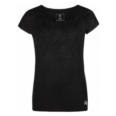 KILPI Dámské triko CHRISTIE-W ML0085KIBLK Černá