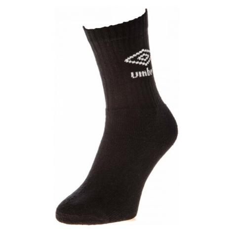 Umbro ANKLE SPORTS SOCKS - 3 PACK černá - Ponožky