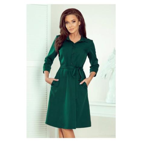 Dámské šaty Numoco 286-1 Sandy   zelená