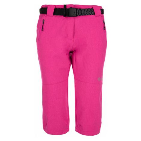 KILPI Dámské 3/4 kalhoty DALARNA-W IL0038KIPNK Růžová