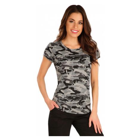 LITEX Tričko dámské s krátkým rukávem 7A328999 tisk