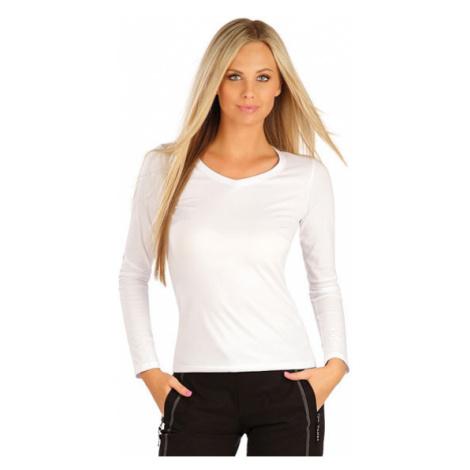 Litex 99596 Tričko dámské s dlouhým rukávem | bílá