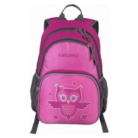 Lewro SCOUT růžová - Univerzální dětský batoh