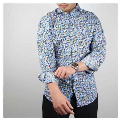 Barevná košile Erik Slim Fit Selected