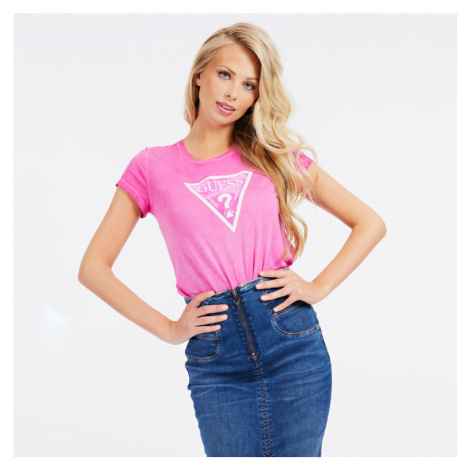 Guess dámské růžové triko