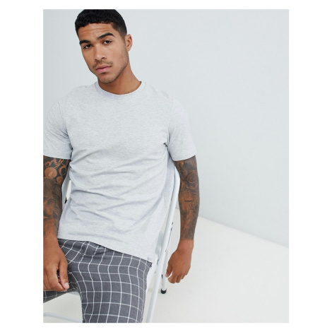 Pull&Bear Join Life basic t-shirt in grey - Grey Pull & Bear