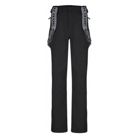 Loap LEMAR černá - Pánské zimní softshellové kalhoty