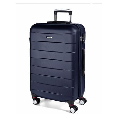 March Střední cestovní kufr Bumper 71 l - modrá