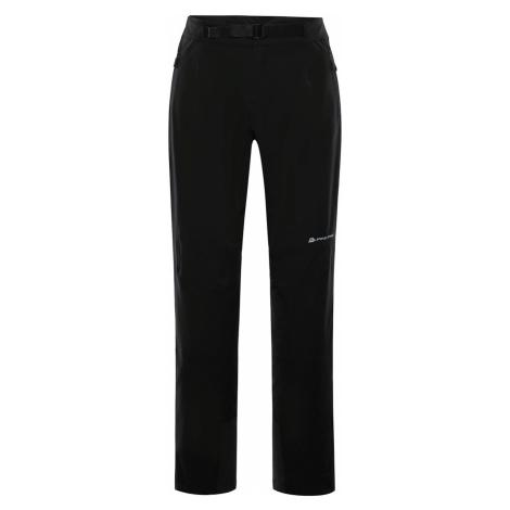 ALPINE PRO ROHAN Pánské softshellové kalhoty MPAP374990 černá