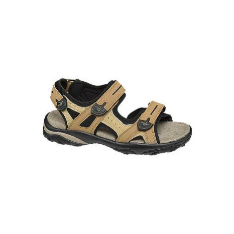 Tmavě béžové sandály Memphis One
