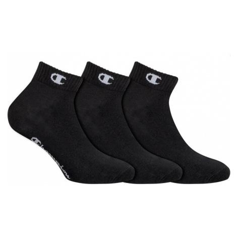 3PACK ponožky Champion černé (Y08QH) S