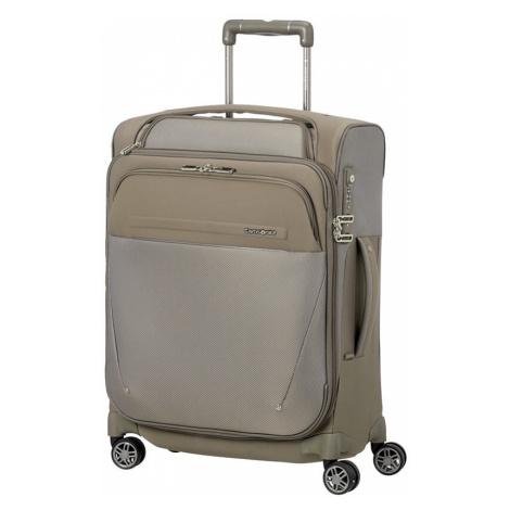 Samsonite Kabinový cestovní kufr B-Lite Icon Spinner EXP Toppocket CH5 39/44 l - béžová