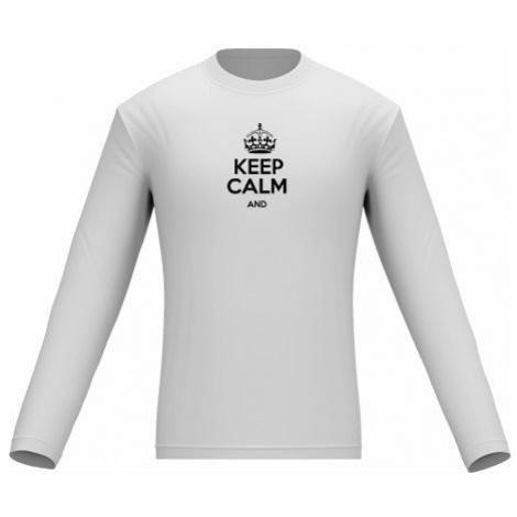 Pánské tričko dlouhý rukáv Keep calm