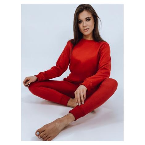 Women's sweatshirt set FITT red AY0470 DStreet