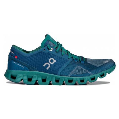 Běžecké boty On Running CLOUD X MAN modrá|zelená