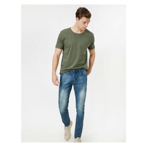 Koton Men's Justin Super Skinny Jeans