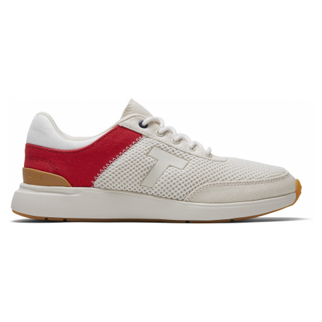Red/Birch Canvas/Mesh Women Arroyo Sneak Toms