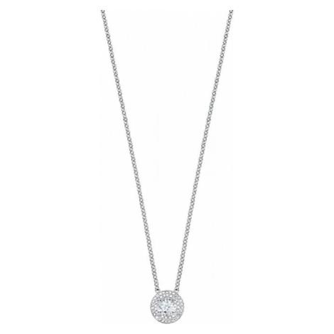 Morellato Stříbrný náhrdelník s třpytivým přívěskem Tesori SAIW64 (řetízek, přívěsek)