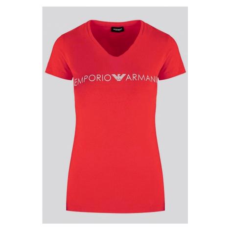 Dámské tričko Emporio Armani 163321 0P317 čevená | červená