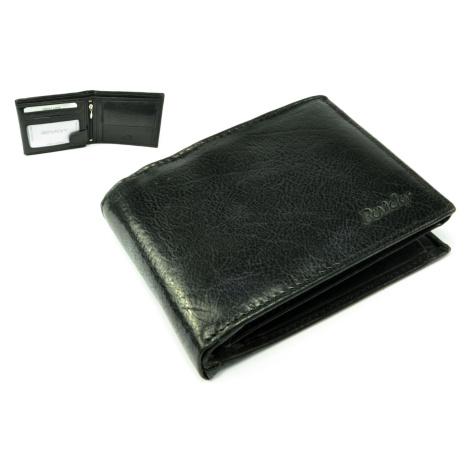 Černá pánská kožená peněženka Rovicky