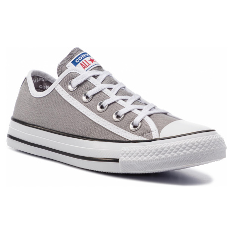 Plátěnky CONVERSE - Ctas Ox 163982C Dolphin/White/White