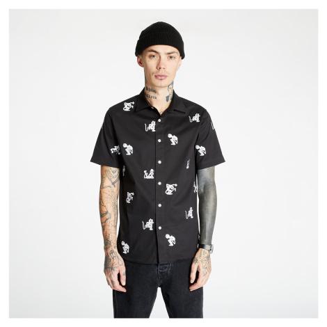 RIPNDIP Dance Party Button Up Shirt Black