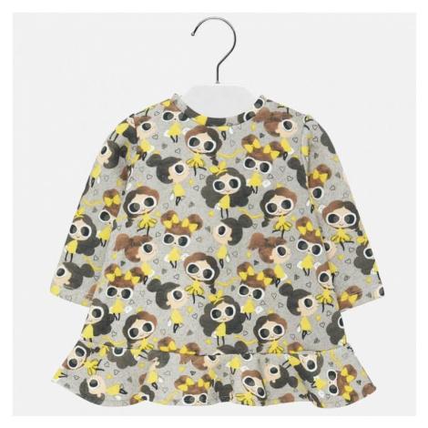 Dívčí šaty Mayoral 2931   žlutá