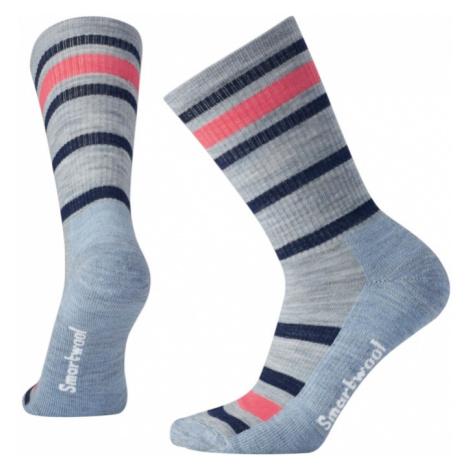 Dámské ponožky Smartwool W STRIPED HIKE LIGHT CREW