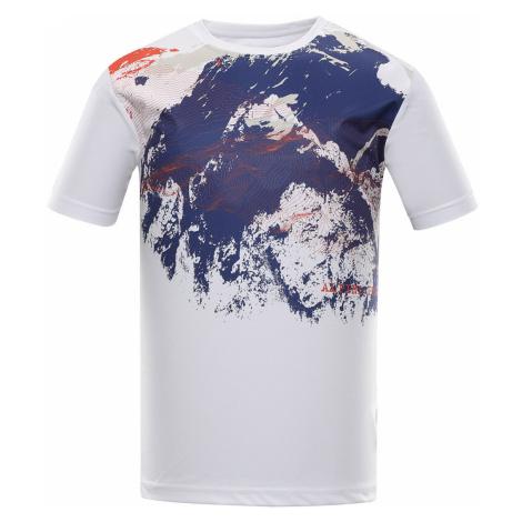 ALPINE PRO QUART Pánské triko MTSR457000PC bílá
