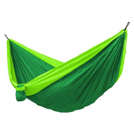 Hamaka.eu Houpací síť Hamaka Camping + Slap Strap Barva: zelená