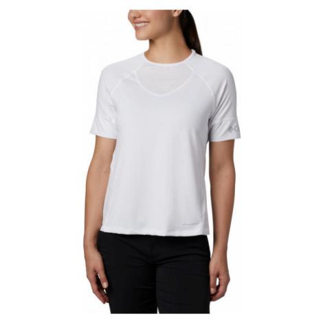 Columbia WINDGATES SS TEE bílá - Dámské sportovní triko