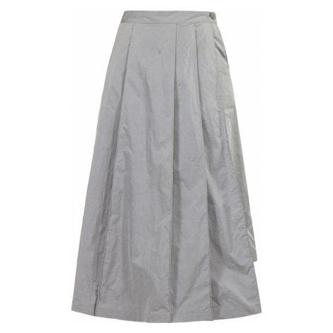 Sukně Y-3 stříbrná šedá
