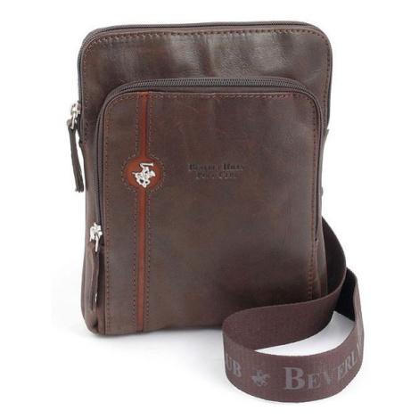 Taška crossbody kožená BHPC Explore S Beverley Hills Polo Club