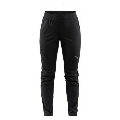 Craft GLIDE W černá - Dámské zateplené softshellové kalhoty