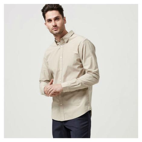Béžová košile – Slim fit Selected