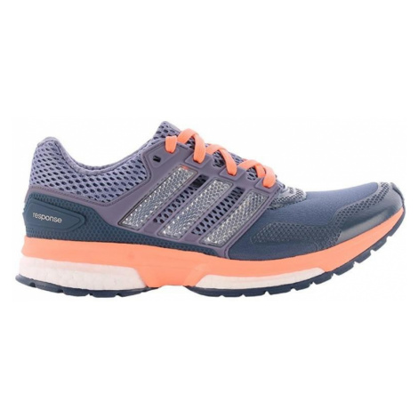 Dámská běžecká obuv adidas Response 2 Techfit Fialová / Růžová
