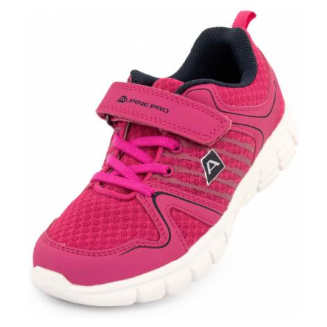 ALPINE PRO KAGANO Dětská sportovní obuv KBTR244452 růžová