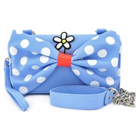 Mickey & Minnie Mouse Loungefly - Minnie Polka Dot Kabelka modrá/bílá/cervená
