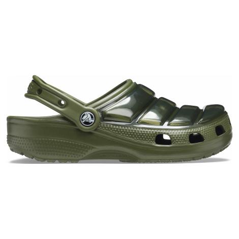Crocs Classic Neo Puff Clog Army Green
