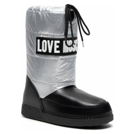 Sněhule LOVE MOSCHINO - JA24082G0BJ1490A Arge/Vit. Nero