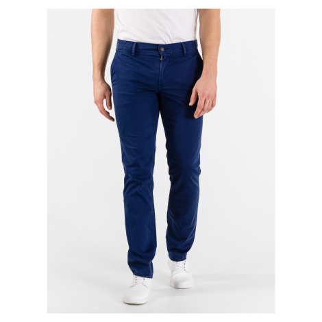 Kalhoty BOSS Modrá Hugo Boss